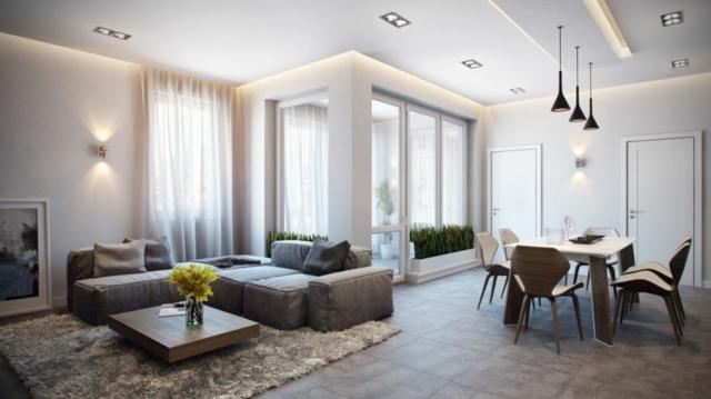 aménagement décoration interieur appartement design