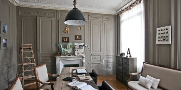 d coration maison bourgeoise contemporaine. Black Bedroom Furniture Sets. Home Design Ideas