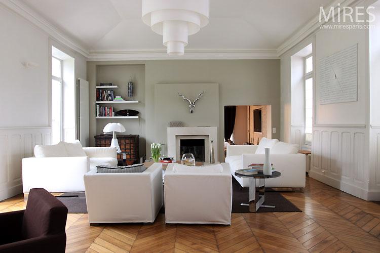 d coration maison bourgeoise contemporaine. Black Bedroom Furniture Sets. Home Design Ideas