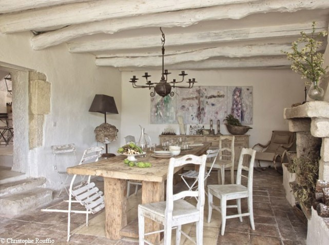 d coration maison champ tre. Black Bedroom Furniture Sets. Home Design Ideas