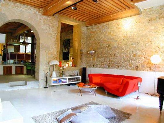 decoration maison en pierre