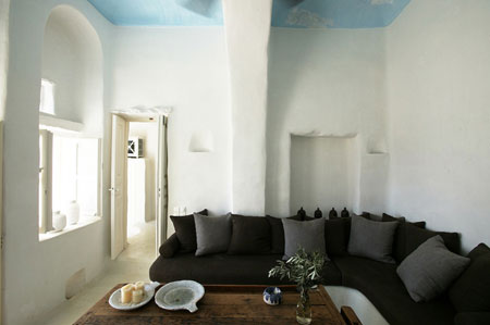 idée décoration maison grecque
