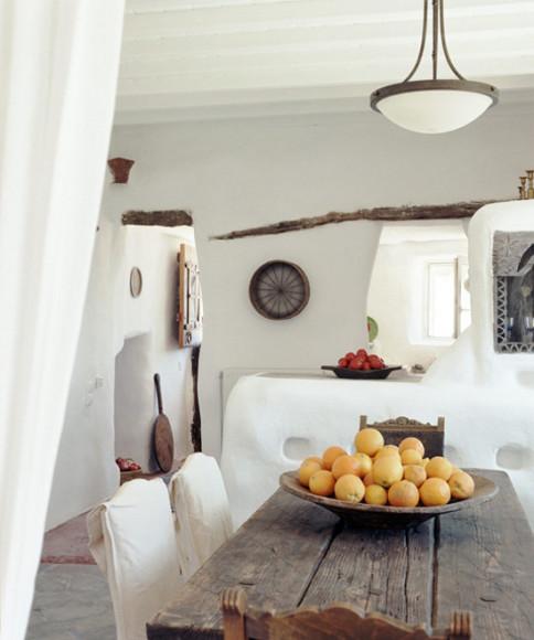 exemple décoration maison grecque