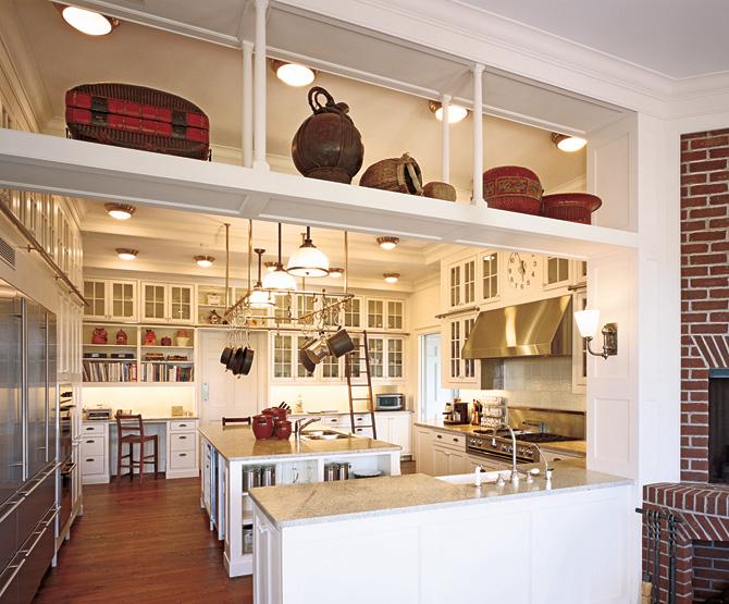 deco cuisine haut plafond