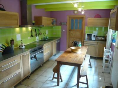deco cuisine vert anis. Black Bedroom Furniture Sets. Home Design Ideas