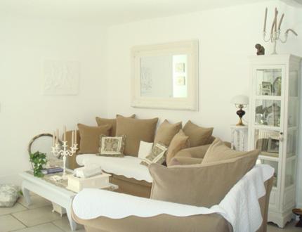 deco salon beige. Black Bedroom Furniture Sets. Home Design Ideas