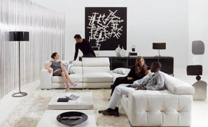 Emejing Salon Blanc Deco Contemporary - Amazing House Design ...