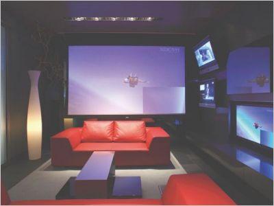 deco salon high tech. Black Bedroom Furniture Sets. Home Design Ideas