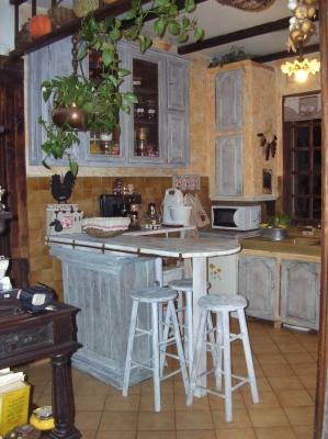 decoration cuisine a la campagne. Black Bedroom Furniture Sets. Home Design Ideas