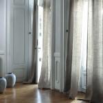 decoration salon et rideaux