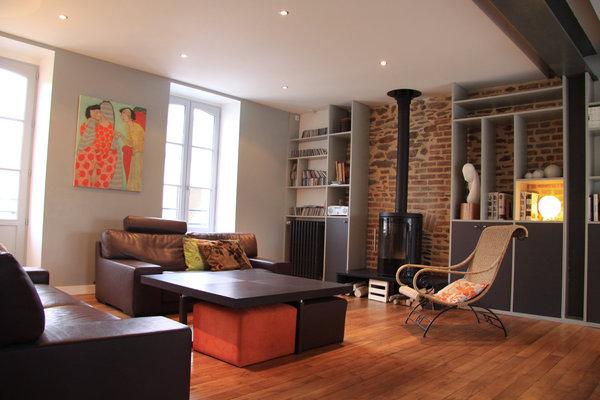 Decoration salon maison bourgeoise for Jolie decoration maison