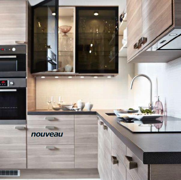 Cuisine faktum noir ikea - Ikea cuisine faktum ...
