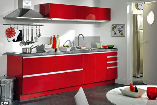 cuisine ikea rouge laque. Black Bedroom Furniture Sets. Home Design Ideas