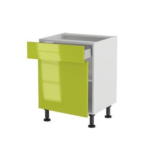Cuisine meuble vert for Organisation cuisine