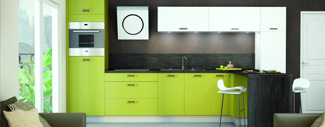 d co cuisine vert anis id e inspirante pour la conception de la maison. Black Bedroom Furniture Sets. Home Design Ideas