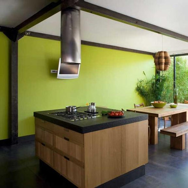 cuisine mur vert pomme. Black Bedroom Furniture Sets. Home Design Ideas