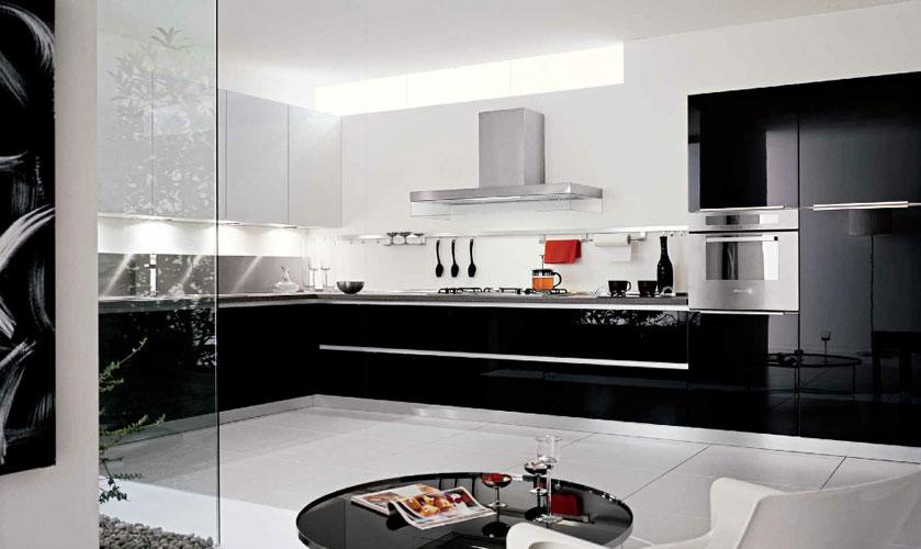 Cuisine Noir Laque – Chaios.com