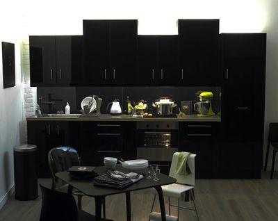 Cuisine Noir Mat Ikea Interesting En Couverture Du Catalogue