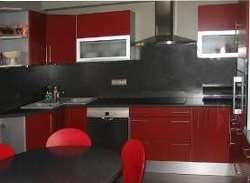 cuisine rouge mat