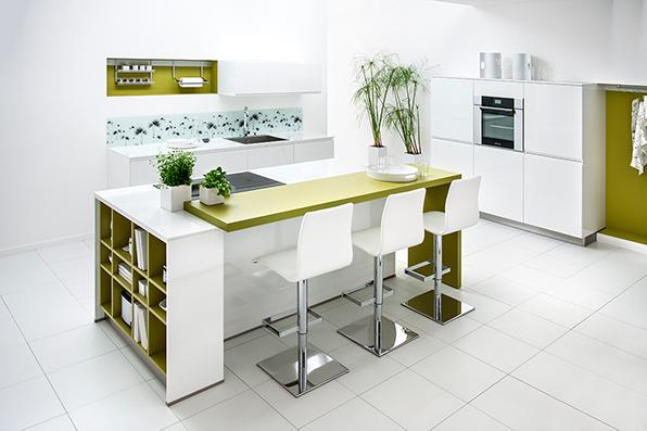 Photo Cuisine Schmidt Vert Olive