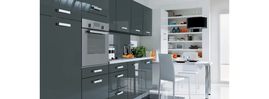 cuisine tipy rouge but. Black Bedroom Furniture Sets. Home Design Ideas