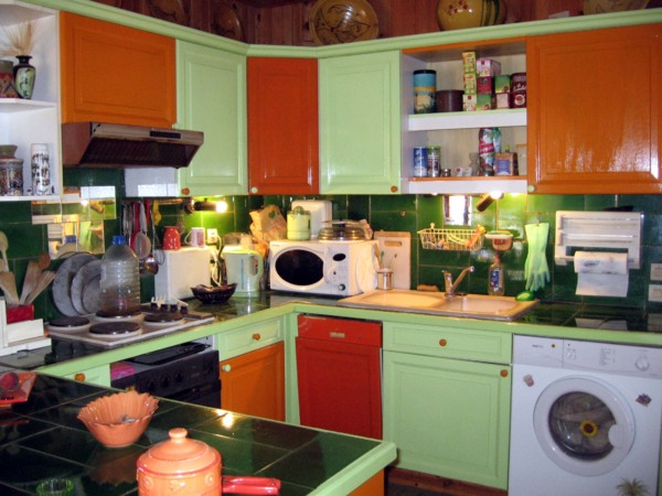 Best Decoration Cuisine Orange Et Vert Images - House Design ...
