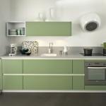 cuisine vert pastel