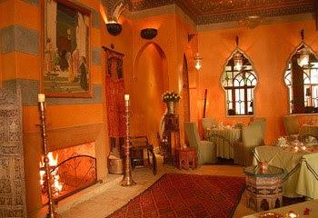 belle déco maison arabe