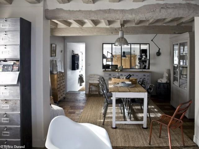 Foyer Travailleur Salon De Provence : Déco maison campagne moderne