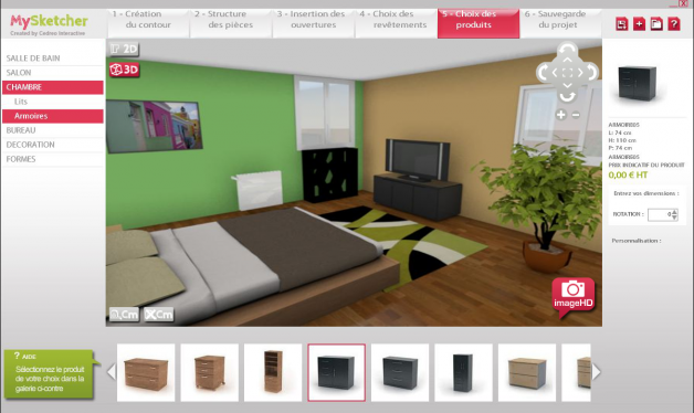 D co maison en 3d for Belle deco maison