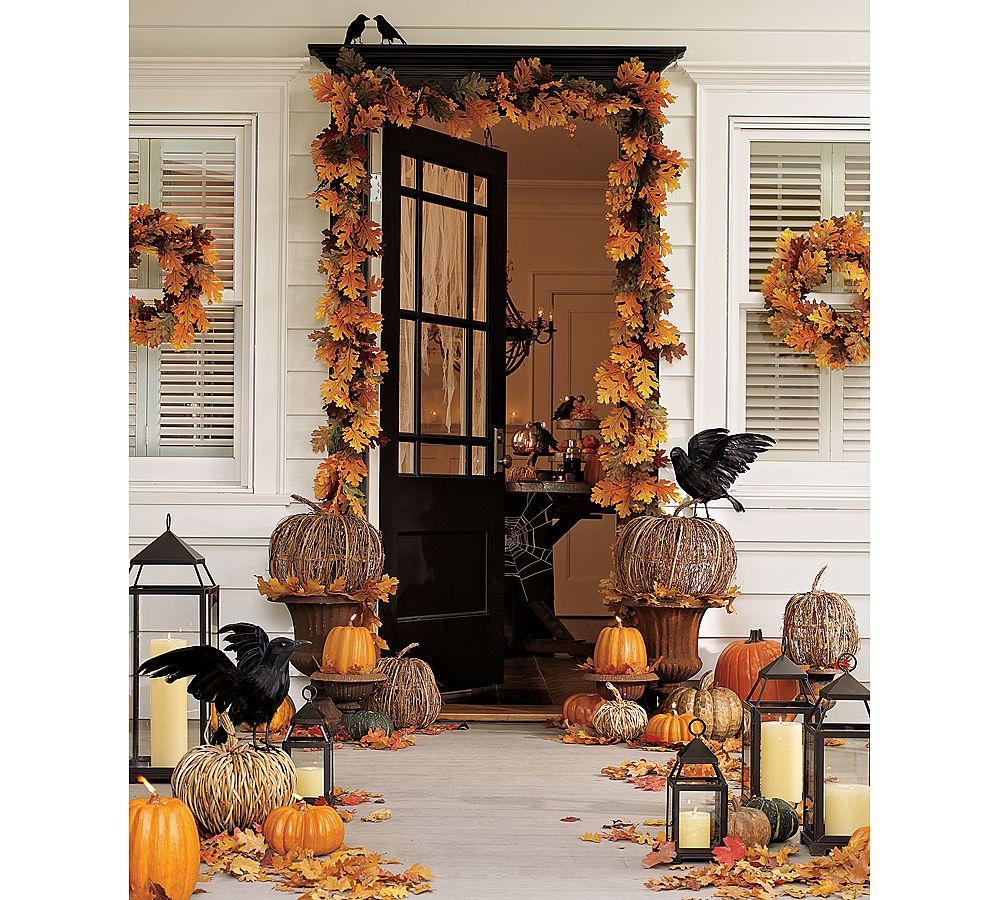 decoration halloween maison