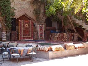 D co maison orientale for Deco terrasse orientale