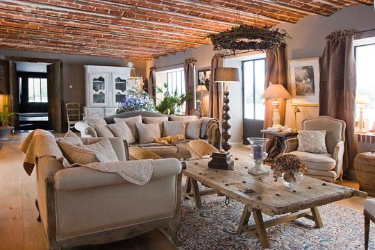 aménagement décoration maison a la campagne