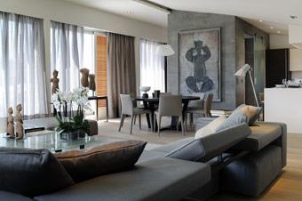 Jolie décoration maison contemporaine architecte - Photo Déco