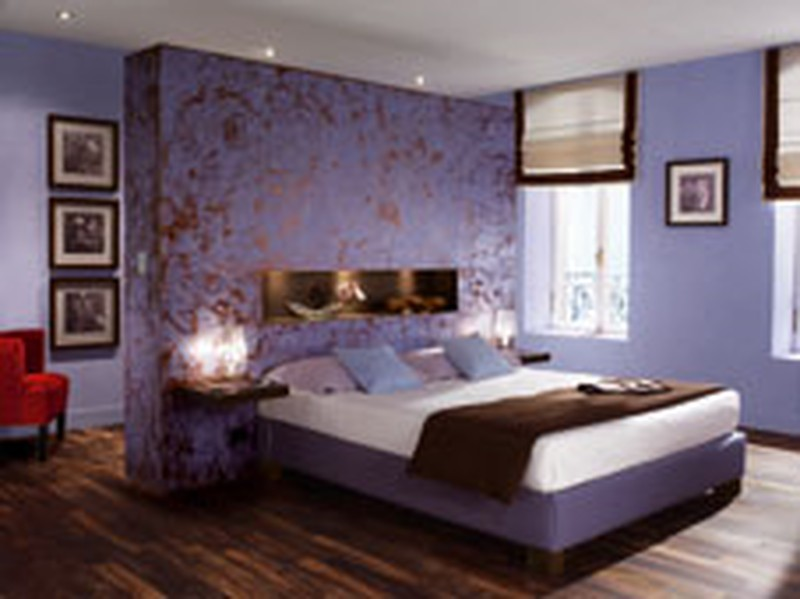 decoration maison peinture chambre. Black Bedroom Furniture Sets. Home Design Ideas