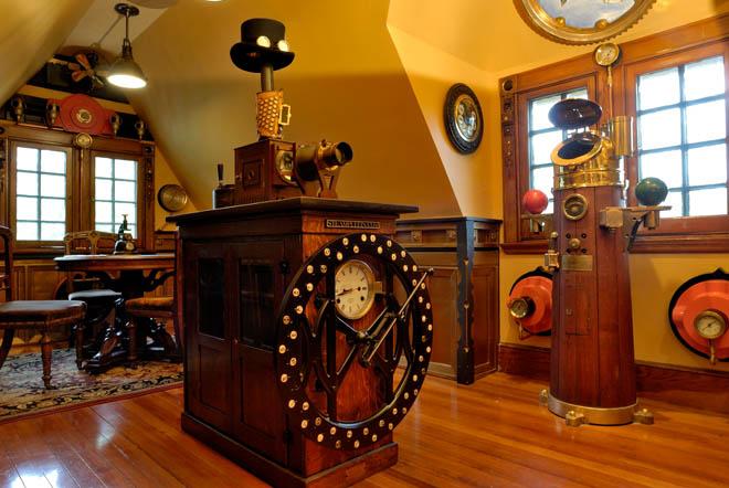 d coration maison steampunk. Black Bedroom Furniture Sets. Home Design Ideas