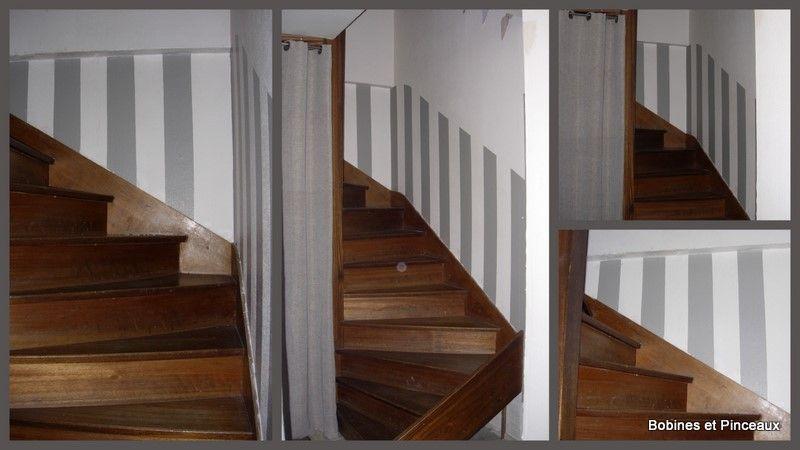 idée deco cage escalier