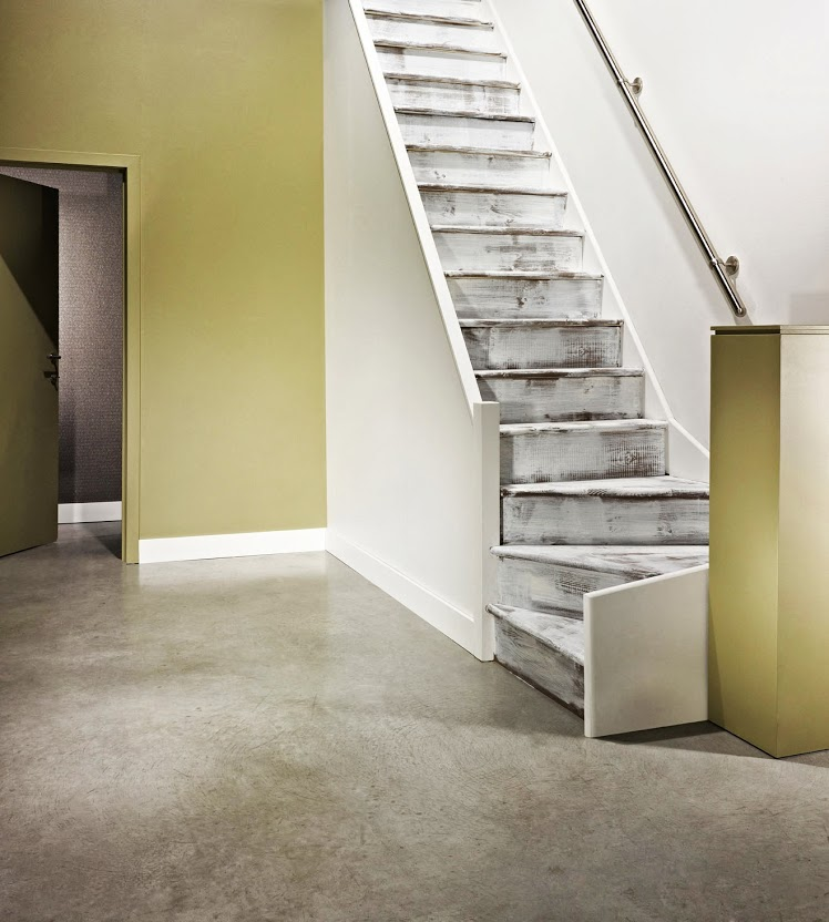 Idee Deco Cage D Escalier. Escaliers Trs Inspirs With Idee Deco Cage ...