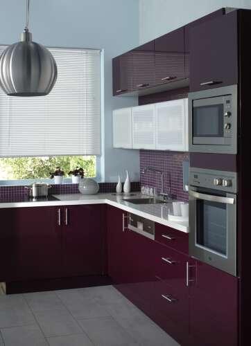 decoration cuisine aubergine