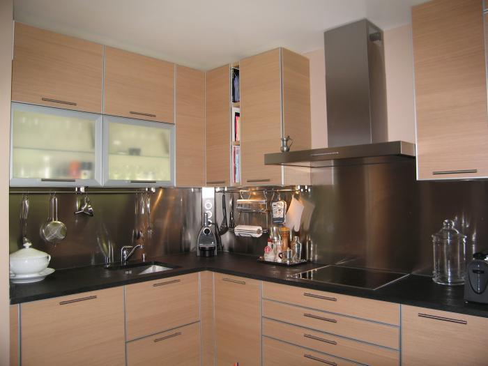 Deco cuisine en chene - Deco cuisine bois clair ...