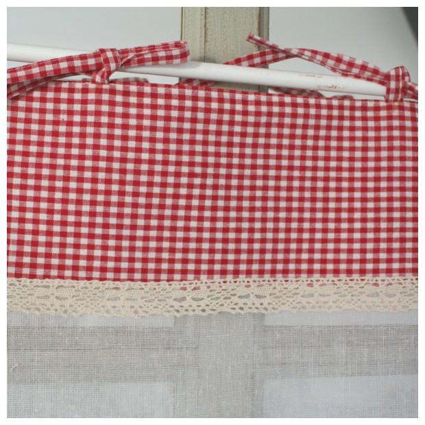 Cuisine Rouge Vichy Pr L Vement D 39 Chantillons Et Une Bonne Id E De Concevoir