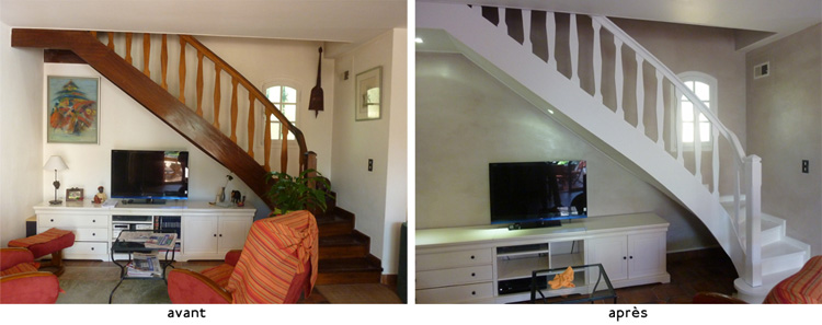 Deco d escalier interieur - Photo d escalier d interieur ...