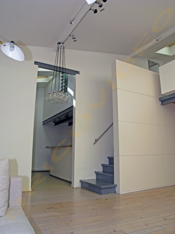 Deco escalier mezzanine - Como hacer una escalera plegable para altillo ...