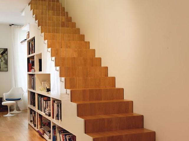 Deco escalier sous sol - Escalier ouvert salon ...