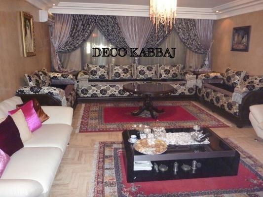 Deco kabbaj salon marocain - Deco salon americain ...