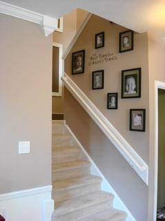 Photo deco murs escalier