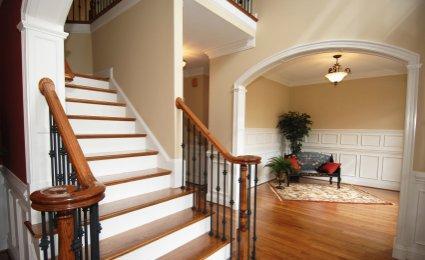deco peindre un escalier en bois. Black Bedroom Furniture Sets. Home Design Ideas