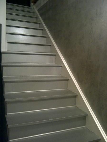 Modele De Chambre : Deco peinture escalier bois
