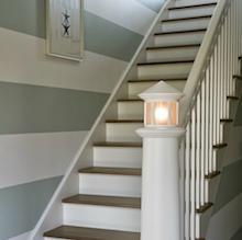 Deco pour escalier bois for Quelle peinture pour escalier bois