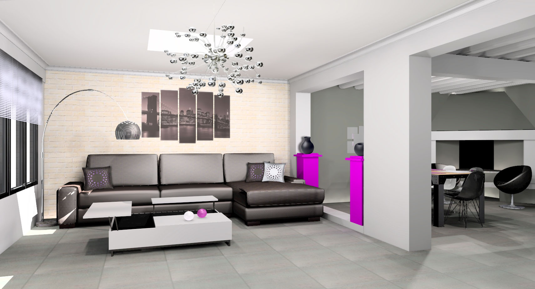 Deco Salon Appartement - Fashion Designs